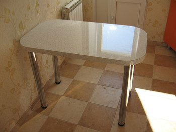 Кухонный стол по размерам